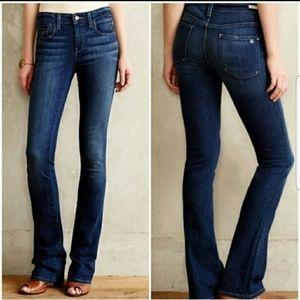 Pilcro Anthropopogie Stet slim bootcut jeans sz 25